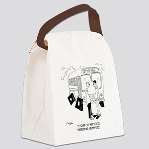 Why Youre Having a Bumpy Ride Canvas Lunch Bag