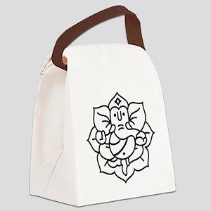 Ganesh Ganesa Ganapati 02_1c Canvas Lunch Bag