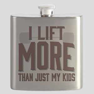 I Lift More than Just My Kids Flask