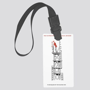 THe Nature of Choice Demands Dec Large Luggage Tag