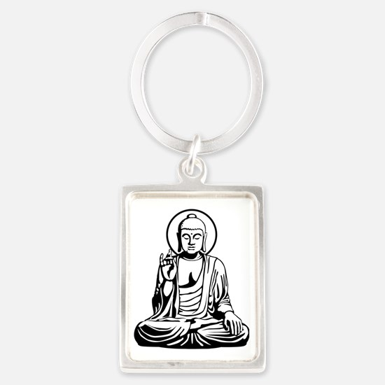 Young Buddha No.1_2c Portrait Keychain