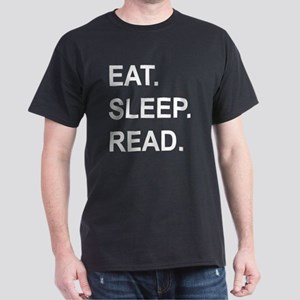Eat Sleep Read Dark T-Shirt