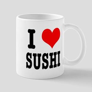 I Heart (Love) Sushi Mug