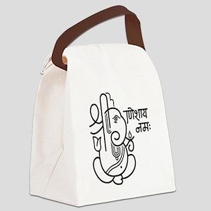 Ganesh Ganesa Ganapati 05_1c Canvas Lunch Bag