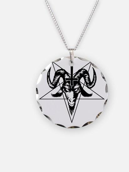 Satanic Goat Head with Penta Necklace