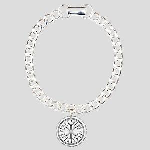 Odin's Protection No.2_2 Charm Bracelet, One Charm