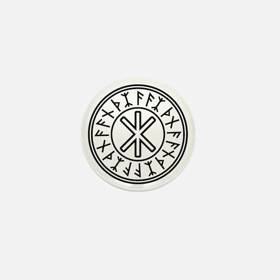 Odin's Protection No.2_2c Mini Button