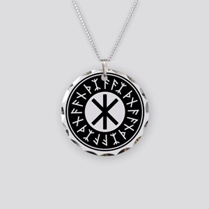 Odin's Protection No.1_2c Necklace Circle Charm