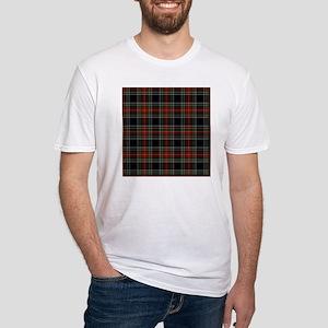 Black Stewart Scottish Clan Fitted T-Shirt