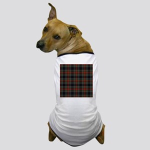 Black Stewart Scottish Clan Dog T-Shirt