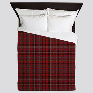 Royal Stewart Scottish Tartan Queen Duvet