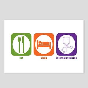 Eat Sleep Internal Medicine Postcards (Package of