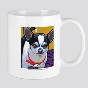Black & White Chihuahua Mug