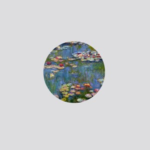 Water Lilies 1916 by Claude Monet Mini Button