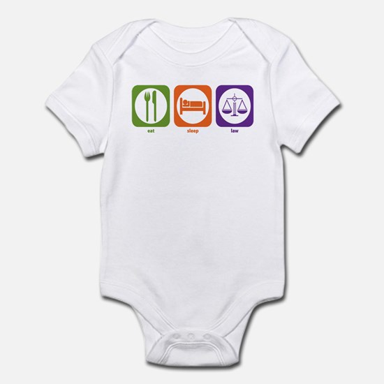Eat Sleep Law Infant Bodysuit