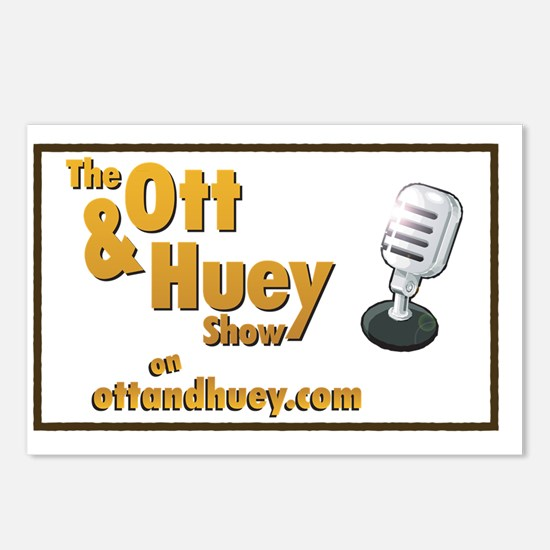 Original Ott  Huey Show L Postcards (Package of 8)