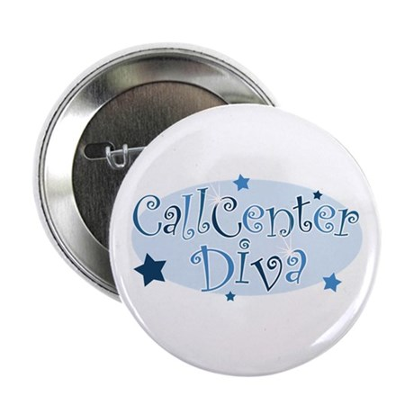 Call Center Diva [blue] Button