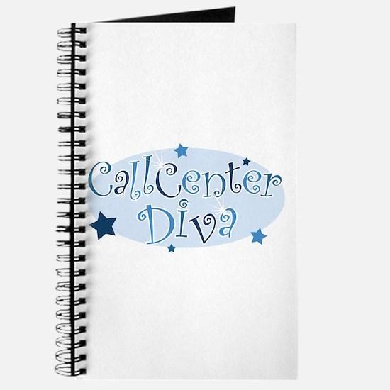 Call Center Diva [blue] Journal
