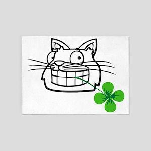 Lucky cat 5'x7'Area Rug