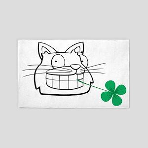 Irish cat 3'x5' Area Rug