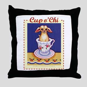 Cup of Chi Throw Pillow
