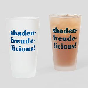 Schadenfreudelicious Drinking Glass