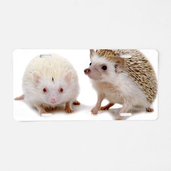 rosie Hedgehog Aluminum License Plate