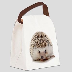 Rosie hedgehog Canvas Lunch Bag