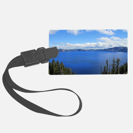 Crater Lake National Park Luggage Tag