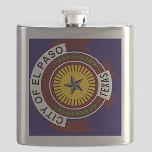 El Passo Texas Flag Flask