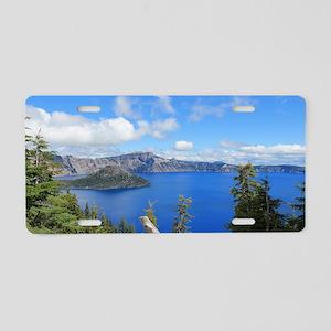 Crater Lake National Park Aluminum License Plate