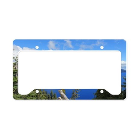 Crater Lake National Park License Plate Holder By Admin