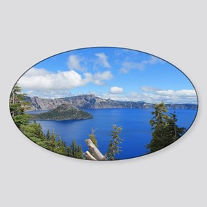 Crater Lake National Park Sticker (Oval)