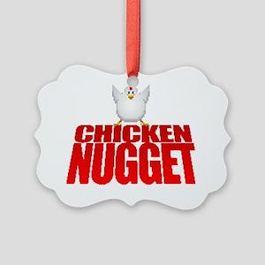 Chicken Nugget Picture Ornament