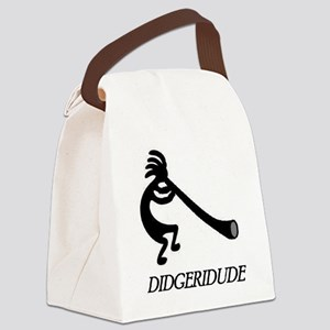 Didgeridude-didgeridoo player Canvas Lunch Bag