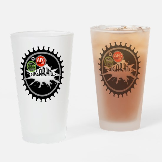 Sugar Hill Logo (5x5) Drinking Glass