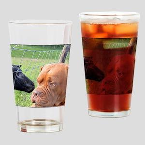 Dogue de Bordeaux Drinking Glass