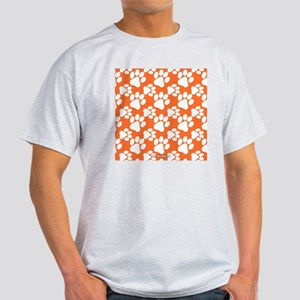 Dog Paws Clemson Orange Light T-Shirt