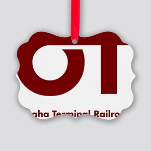 Omaha Terminal Modern Logo Picture Ornament