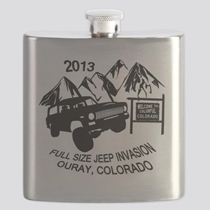 Ouray FSJ Invasion 2013 Flask