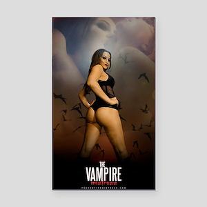 The Vampire Mistress Poster Rectangle Car Magnet