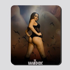 The Vampire Mistress Poster Mousepad