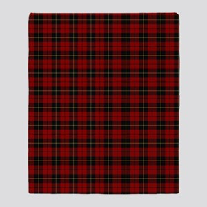 Wallace Clan Scottish Tartan Throw Blanket