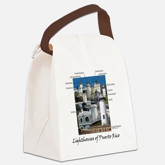 Lighthouses of Puerto Rico Canvas Lunch Bag