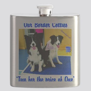 Our Border Collies, Two for the Price of One Flask