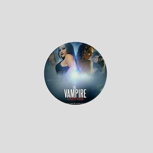The Vampire Mistress Collage Mini Button