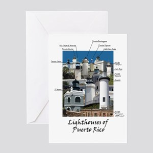 Lighthouses of Puerto Rico Greeting Card