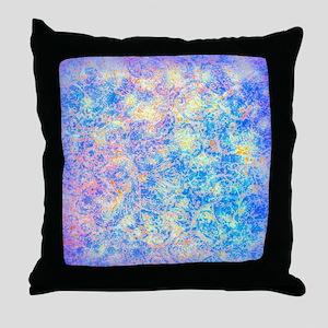 Watercolor Paisley Throw Pillow