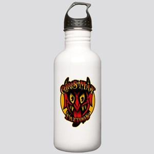 Chris May Devil shirt Stainless Water Bottle 1.0L