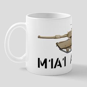 M1A1 Abrams MBT Profile View Mug